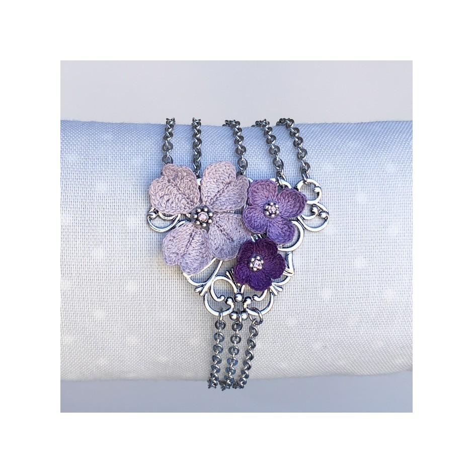 Armband Sofia Violett