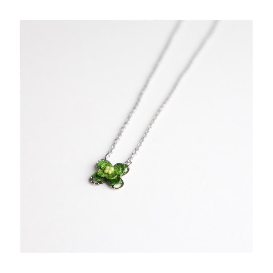 Kette Mini Fortuna grün 2