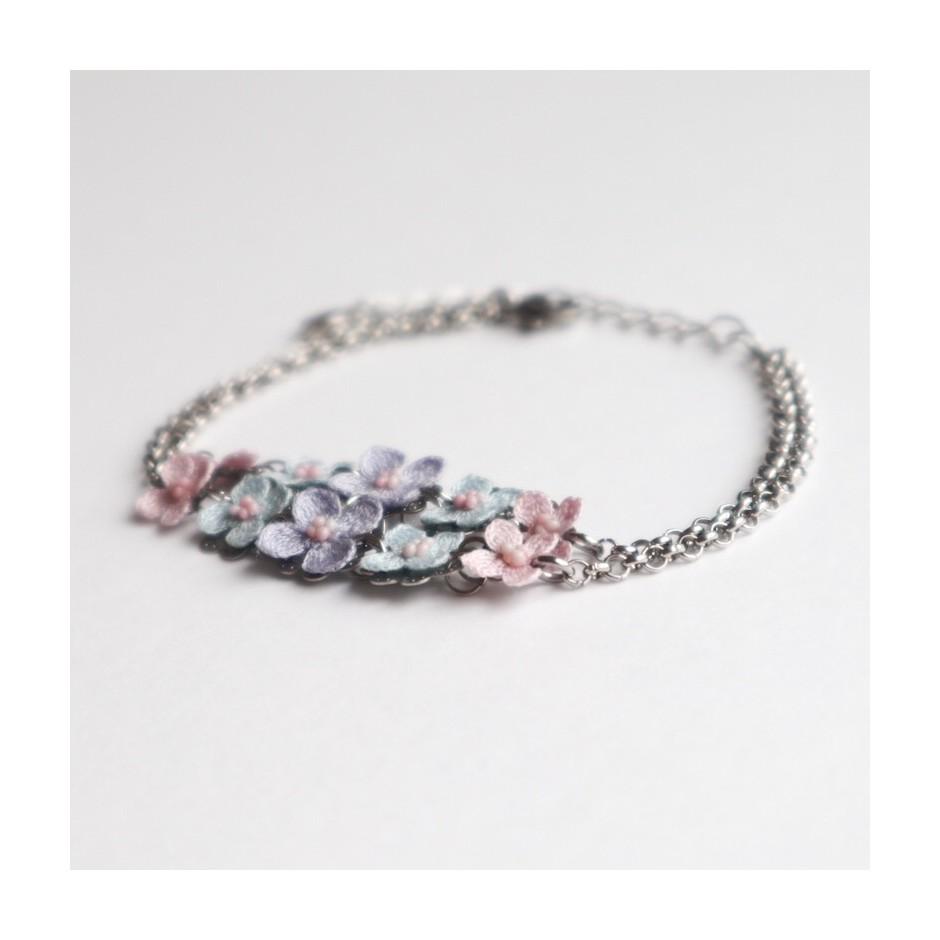 Armband Fortuna lila