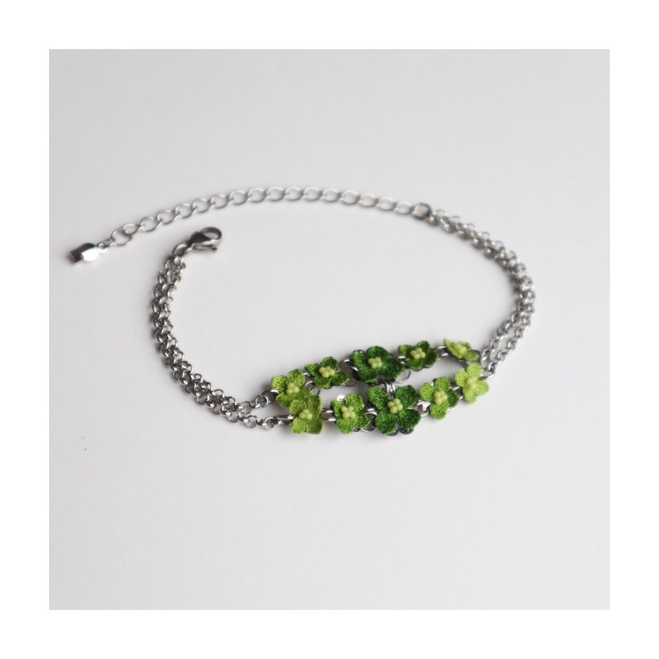 Armband Fortuna grün